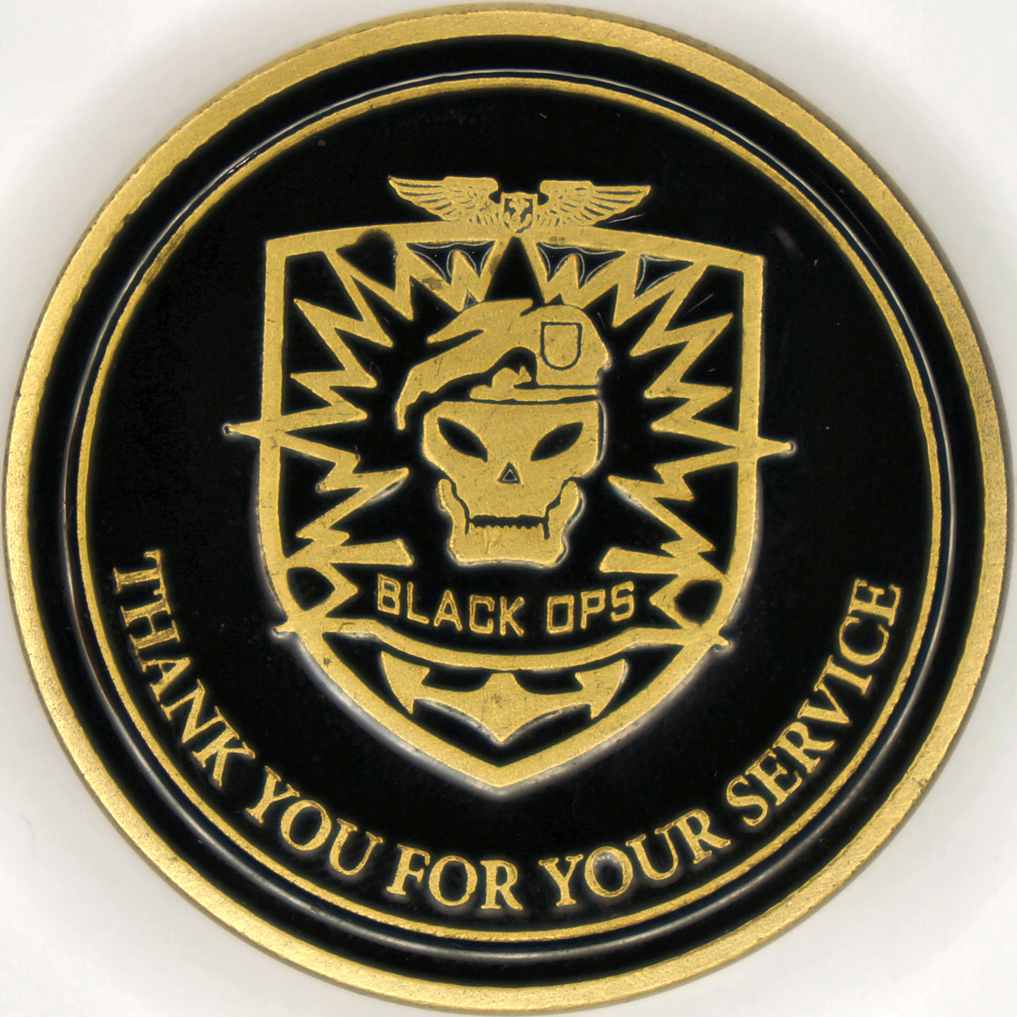 Call of Duty: Black Ops Challenge Coin - Videogame Challenge