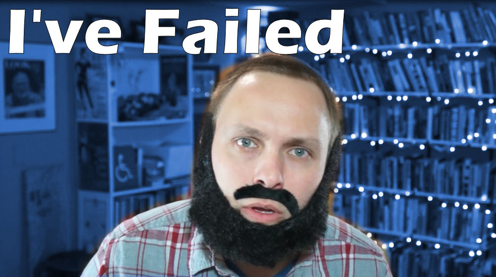 I've Failed - Caleb J. Ross YouTube Video